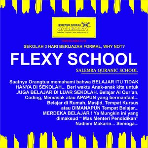 Salemba Quranic School - Salemba Kidz, Flexy School ...