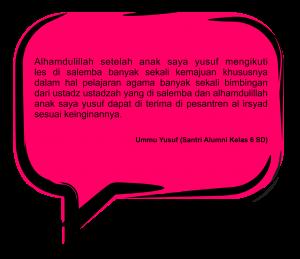 Testimoni Ummu Yusuf new